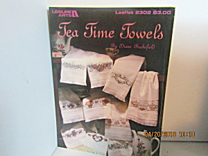 Leisure Arts Tea Time Towels #2302