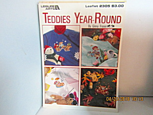 Leisure Arts Cross Stitch Teddies Year-round #2305