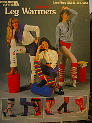 Leisure Arts Knitted Leg Warmers #239