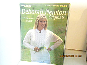 Leisure Arts Knit Deborah Newton Originals   #2420 (Image1)