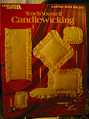 Leisure Arts Teach Yourself Candlewicking #243