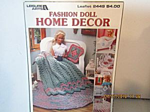 Leisure Arts Fashion Doll Home Decor #2449 (Image1)