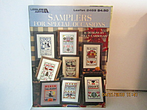 Leisure Art Samplers For Special Occasions #2469