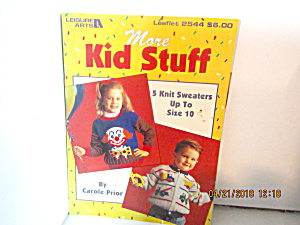 Leisure Arts More Kids Stuff To Knit #2544