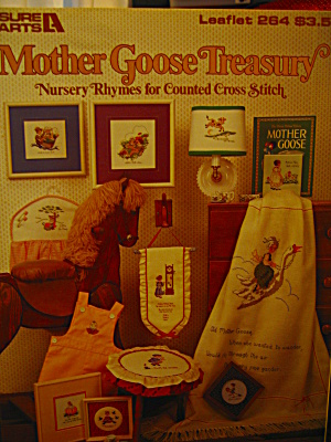 Leisure Arts Mother Goose Treasury Cross Stitch  #264 (Image1)