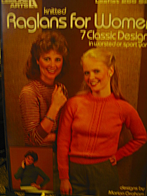 Leisure Arts Knitted Raglans For Women #266