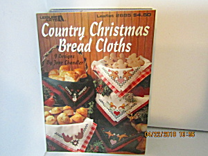 Leisure Arts Country Christmas Bread Cloths #2685 (Image1)