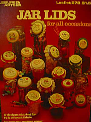 Leisure Arts Jar Lids For All Occasions #278