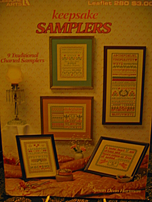 Leisure Arts Keepsake Samplers #280