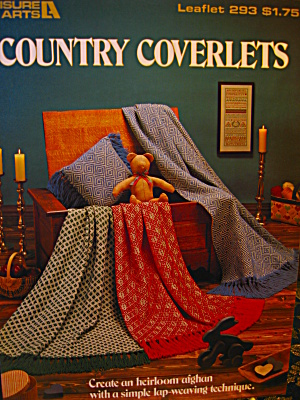Leisure Arts Country Coverlets #293