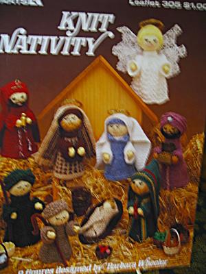 Leisure Arts Knit Nativity  #305 (Image1)