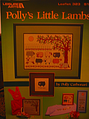 Leisure Arts Cross Stitch Polly's Little Lambs #323