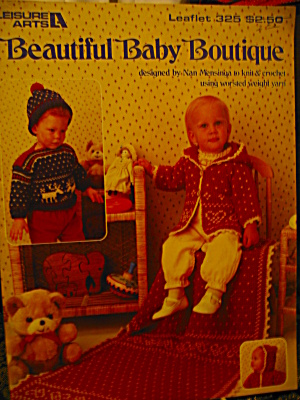 Leisure Arts Beautiful Baby Boutique #325