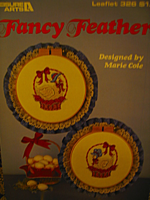 Leisure Arts Cross Stitch Fancy Feathers #326