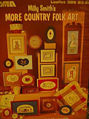 Leisure Arts More Country Folk Arts #329 (Image1)