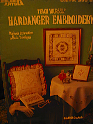 Leisure Arts Teach Yourself Hardanger Emboidery #330