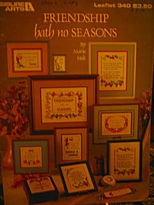 Leisure Arts Friendship Hath No Seasons #340 (Image1)