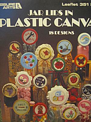 Leisure Arts Jar Lids In Plastic Canvas #351 (Image1)