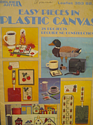 Leisure Arts Easy Pieces In Plastic Canvas #353