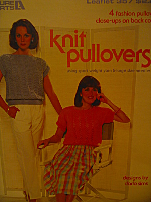 Leasure Arts Knit Pullovers #357