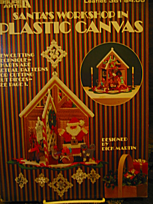 Leisure Arts Santa's Workshop In Plastic Canvas #361