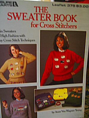 Leisure Arts The Sweater Book For Cross Stitchers #375