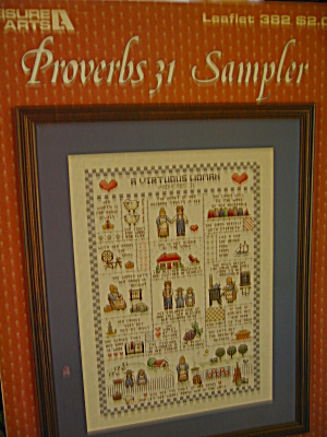 Leisure Arts Proverbs 31 Sampler #382