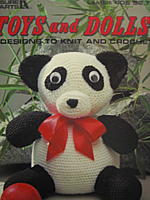 Leisure Arts Toys And Dolls #405