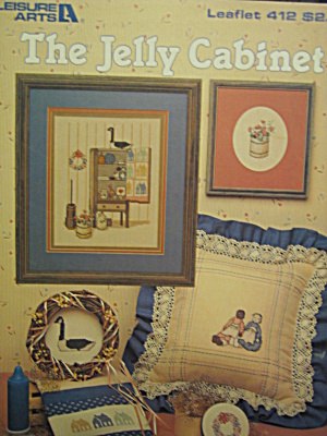 Leisure Arts Cross Stitch The Jelly Cabinet #412
