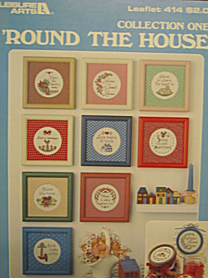 Leisure Arts 'round The House #414