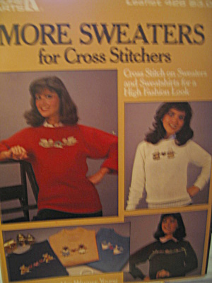Leisure Arts More Sweaters for Cross Stitchers #426 (Image1)