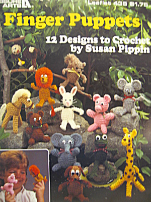 Leisure Arts Finger Puppets #435