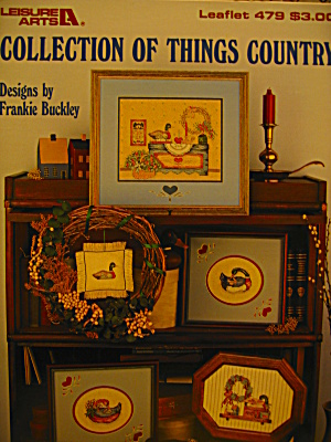 Leisure Arts Collection Of Things Country #479