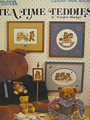 Leisure Arts Tea Time Teddies #486