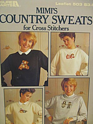 Leisure Arts Mimi's Country Sweats #503