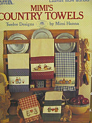 Leisure Arts Mimi's County Towels #504