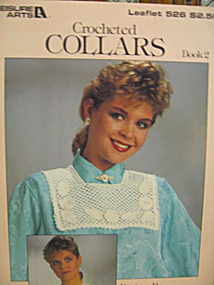 Leisure Arts Crocheted Collars Book 2 #526