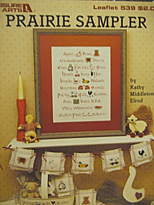 Leisure Arts Prairie Sampler #539