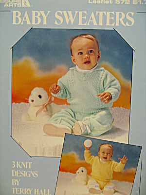 Leisure Arts Baby Sweaters #572