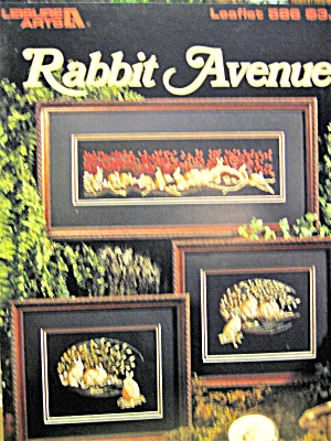 Leisure Arts Rabbit Avenue #586