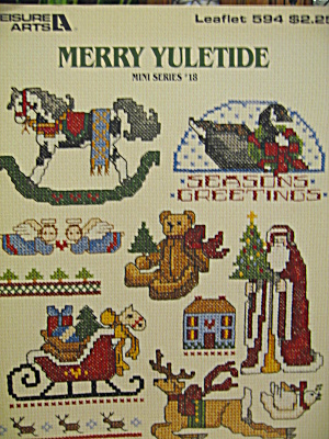 Leisure Arts Merry Yuletide #18 Mini Series #594