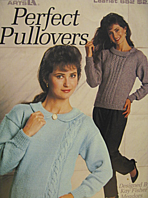 Leisure Arts Perfect Pullovers #652