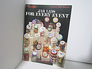 Leisure Arts Jar Lids For Every Event Cross Stitch #682