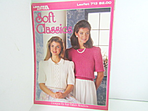 Leisure Arts Sweaters Soft Classics  #713 (Image1)