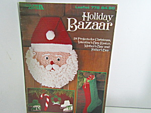 Leisure Arts  Holiday Bazaar 28 Projects  #778 (Image1)