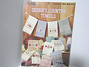 Leisure Arts Debbie's Country Towels #785