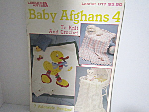 Leisure Art Baby Afghans 4 #817 (Image1)