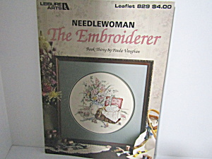 Leisure Arts  Needlewoman The Embroiderer  #829 (Image1)