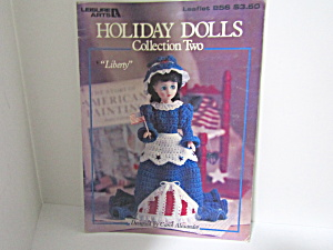 Leisure Arts Holiday Dolls Collection 2 #856