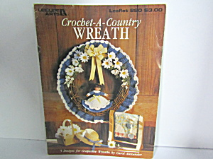 Leisure Arts Crochet-a-country Wreath #880